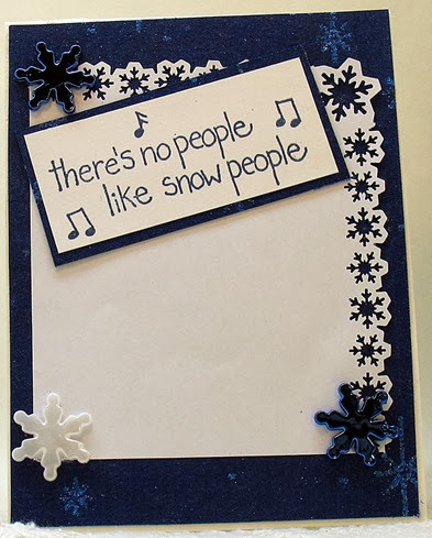 There's no people like snow people 2013  i