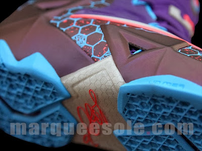 nike lebron 11 gs summit lake hornets 4 04 Upcoming Nike LeBron XI Summit Lake Hornets