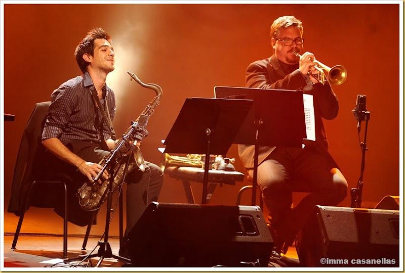 Gabriel Amargant i David Pastor amb Juan Perro, Teatre L'Atlàntida, Vic 2013