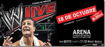 ww live en ciudad de mexico 18 de octubre de 2013