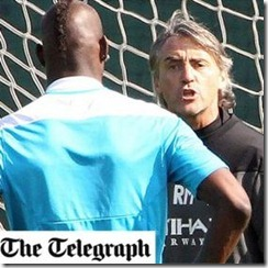 Mancini expulsa a balotelli