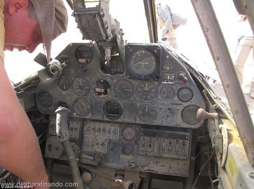 aviao Kittyhawk P-40 encontrado no deserto 70 anos desbaratinando  (3)