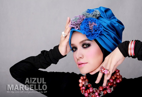 Gambar Artis Bertudung | Yatt Hamzah, Natasha Hudson & Diana Amir