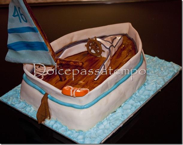 Torta Barca A Vela2