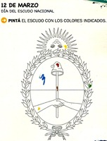 escudo argentino colorear (5)