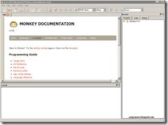 Penampakan Monkey X