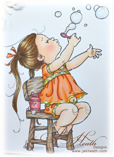 bubbles girl2