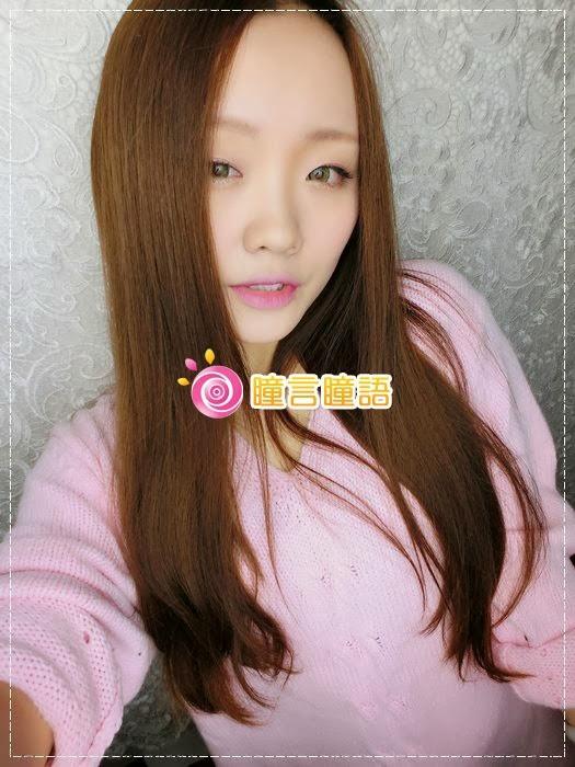 韓國GEO隱形眼鏡-GEO Sparkling 火花四色綠綠色美瞳004