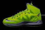 nike lebron 10 gr atomic volt dunkman 2 03 Upcoming Nike LeBron X   Volt Dunkman   New Photos