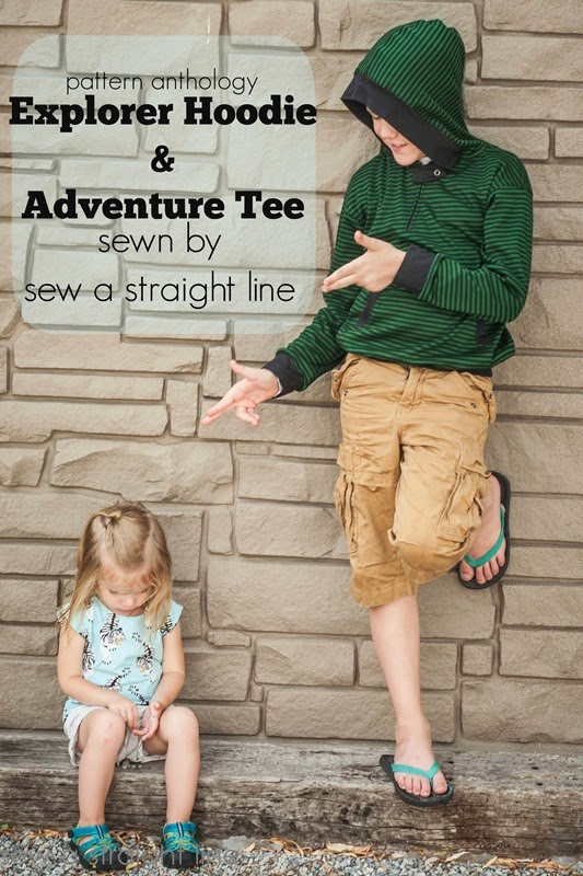 pattern anthology make believe sew a straight line