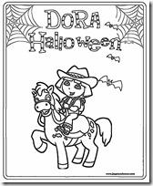 dora halloween jugarycolorear (4)