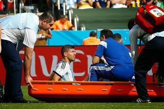 Argentine : Mondial terminé pour Agüero