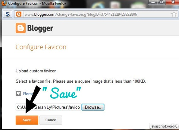 screen shot favicon save