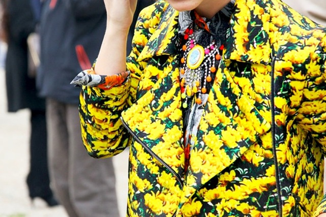 Street-Style-floral Print-Jackets-4