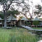 Xaranna Camp, Hauptbereich des Camps © Foto: Ulrike Pârvu | Outback Africa Erlebnisreisen