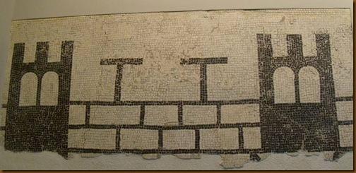 Mosaico de las murallas - Museo de Navarra