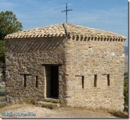 Pequeña torre fusilera en la ermita de Arnostegui - Obanos