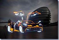 Supercars Painted With Light