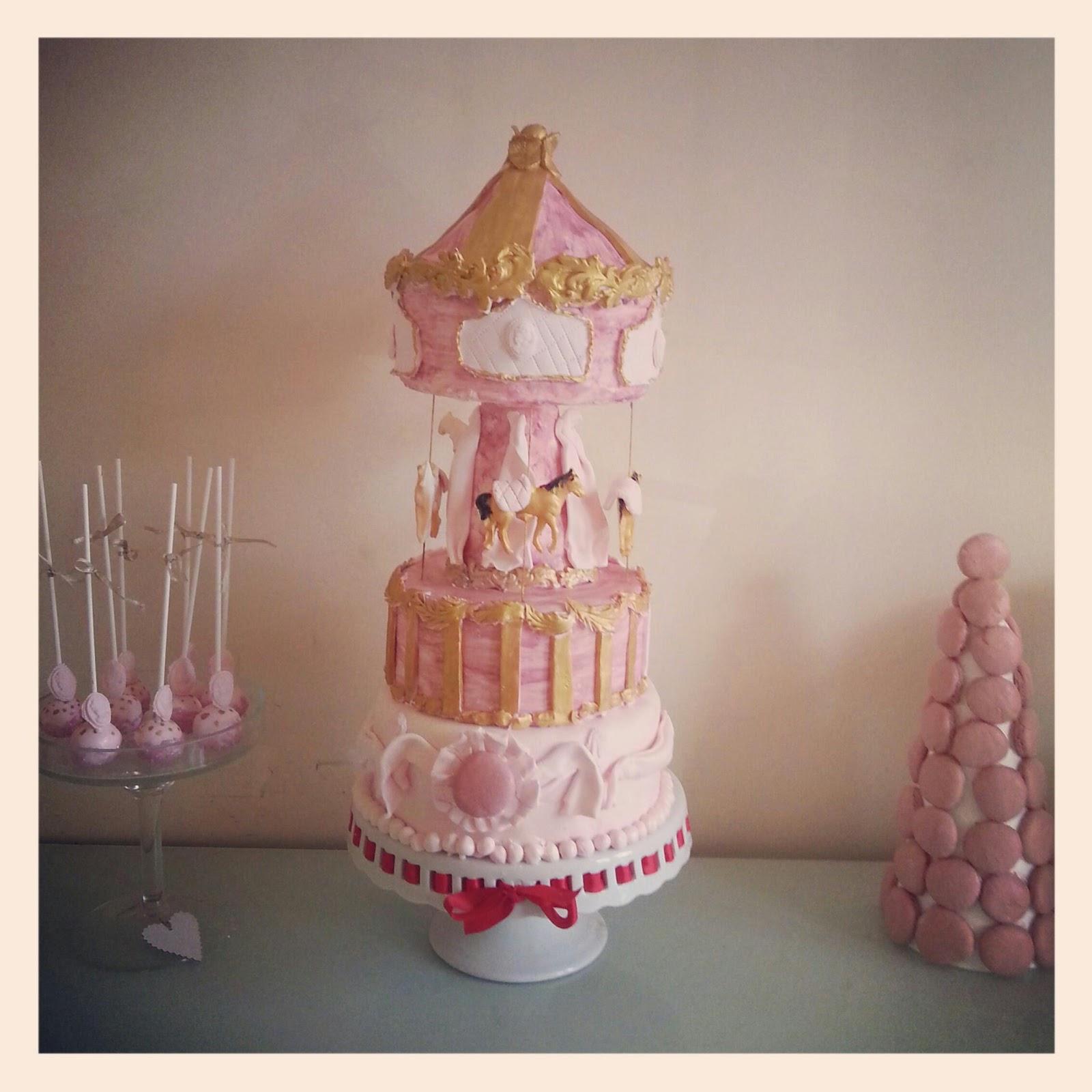 Swt Creation Carousel Birthday Cake