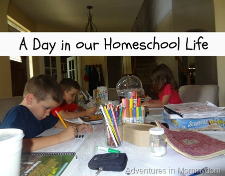 A Day in Our Homeschool Life