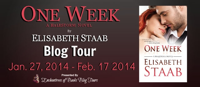 One Week Blog Tour Banner