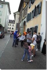 L'épicerie du coeur à Moudon. Photo Caroline Venaille