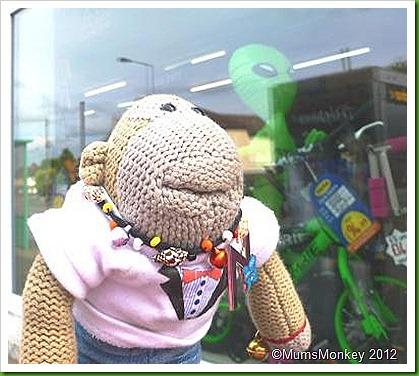 Alien on a Bike..