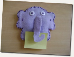elefante_porta recado