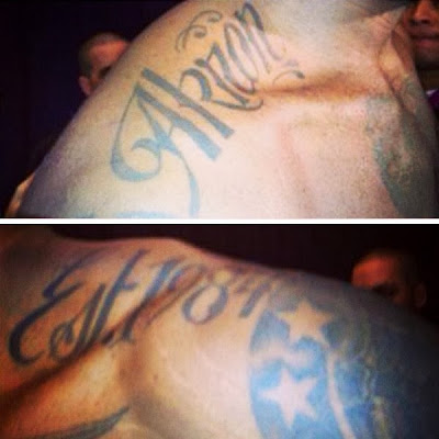 2013 tattoos akron est 1984 4 King James New Tattoos   2013 Edition   Akron & Est. 1984
