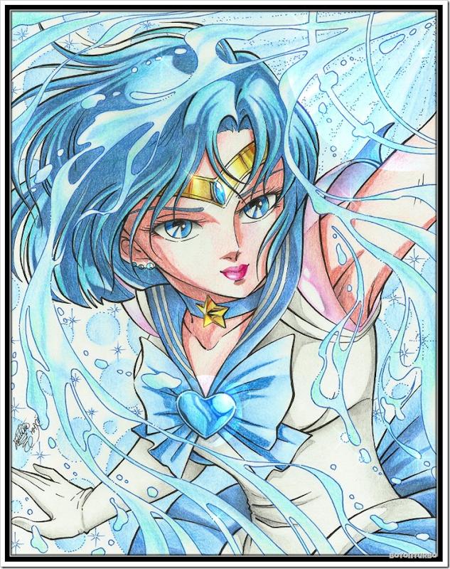 Sailor Mercury - Saint Seiya Araki