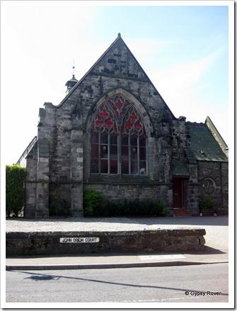 An old church in Markinch now converted to 4 apartments.