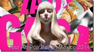 comprar boletos en primera fila para Lady gaga en Mexico Monterrey Guadalajara y acapulco baratos