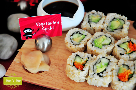 veg-sushi---Ninja-Party-by-Fete