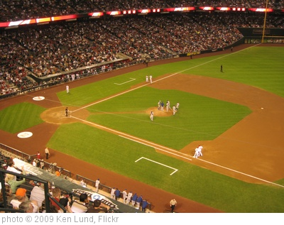 'Arizona Diamondbacks 9, Los Angeles Dodgers 4, Chase Field, Phoenix, Arizona (28)' photo (c) 2009, Ken Lund - license: http://creativecommons.org/licenses/by-sa/2.0/
