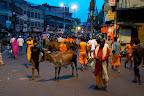 5h15, les rues de Varanasi