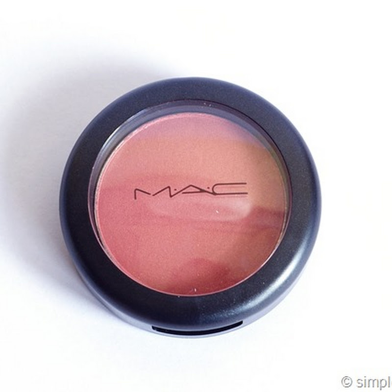 mein erster Mac Blush: Peachykeen