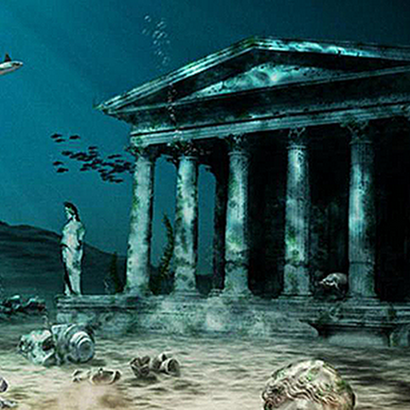10 FORGOTTEN LANDS SUBMERGED BY THE OCEAN