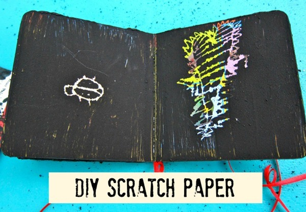 DIY Scratch Paper by Morena's Corner