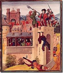 Exécution d'Etienne Marcel