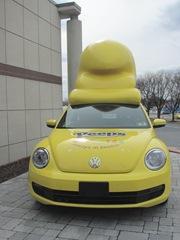 Peeps car front