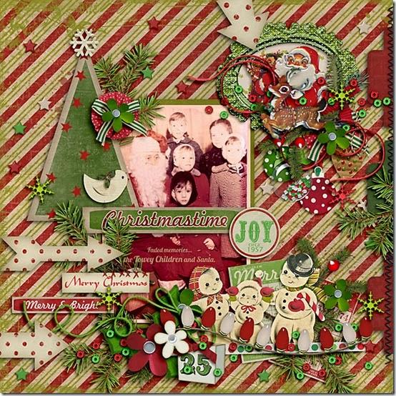 Christmastime 1957