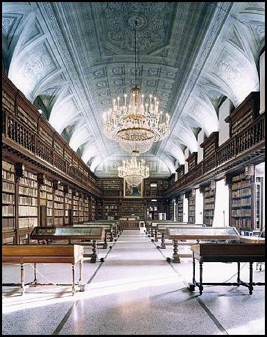 Biblioteca Angelica, Rome, Italie-2