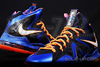 nike lebron 10 ps elite blue black 1 03 Release Reminder: Nike LeBron X P.S. Elite Superhero