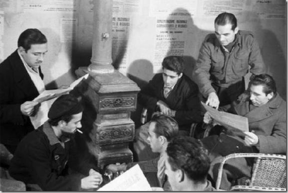 Assemblea degli aderenti al Movimento di Resistenza Partigiana. 1946