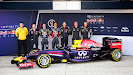 Red Bull RB10 F1 car launch pictures