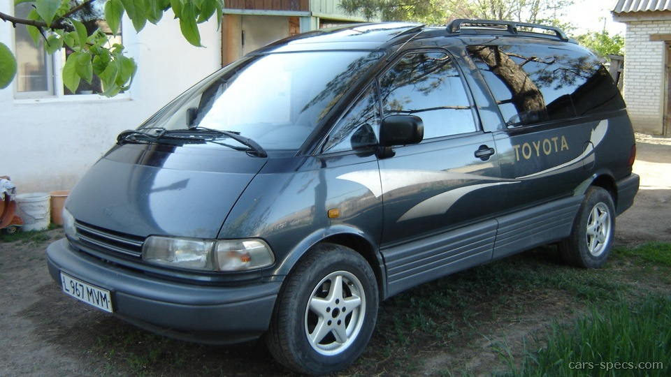 1992 Toyota Previa Minivan Specifications  Pictures  Prices