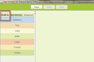 ปัญหาไม่มี definition ให้ใช้งานใน app invertor