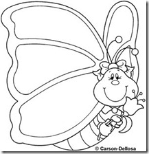 colorear mariposas pintaryjugar com (17)