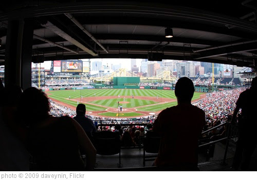 'PNC Park Under the Roof' photo (c) 2009, daveynin - license: https://creativecommons.org/licenses/by/2.0/