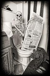 Bathroom Skeleton Brenda Carson